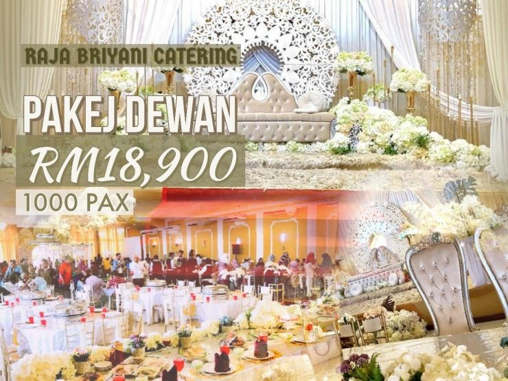 Pakej Dewan Perkahwinan Shah Alam