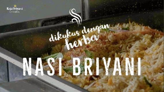 nasi briyani yang sedap dari Raja Briyani Catering